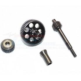 Pignons  acier SCX10 II SSCX27038CG-BK GPM