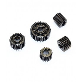 Pignons  acier diff. SCX10 II SSCX21200-BK GPM