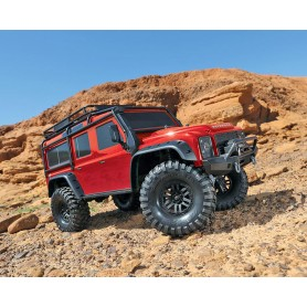 TRX4 Crawler Land Rover Defender D110 rouge RTR TRX82056 Traxxas