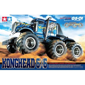 Konghead 6x6 - G6-01 58646 Tamiya
