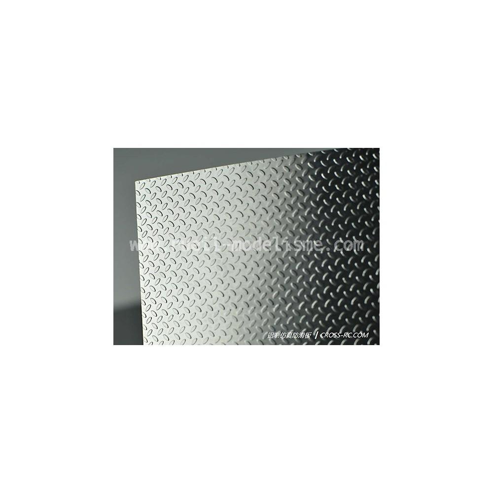 Plaque alu perforée 92273038-1 Cross RC - Rueil Modelisme