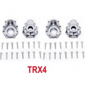 Carters de démultiplicateur TRX4 TRX4021A/2-GS GPM Racing