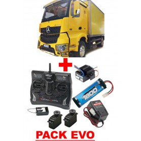 Mercedes Actros 1843 140435 H. Hobby PACK EVO