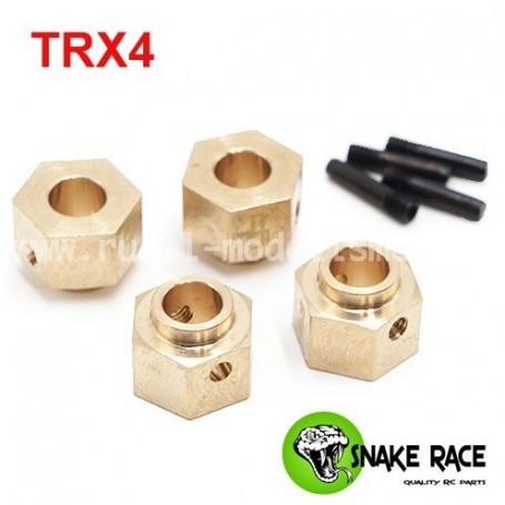 Hexagones de roues lourds TRX4 17027 Snake Race