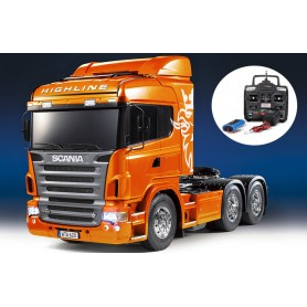 Scania R620 6x4 ORANGE RTR 23689 Tamiya