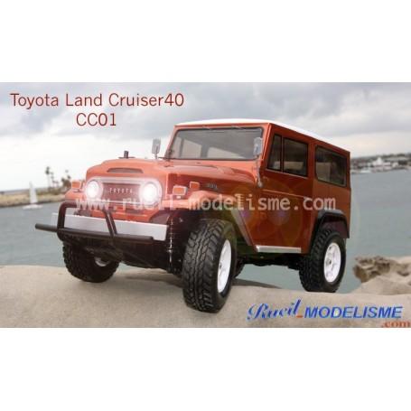 Toyota Land Cruiser bj 40 CC01 58445 Tamiya