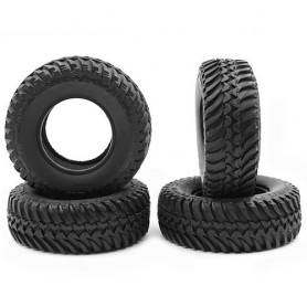 Pneus crawler 98mm 1.9  CRA-147 3Racing