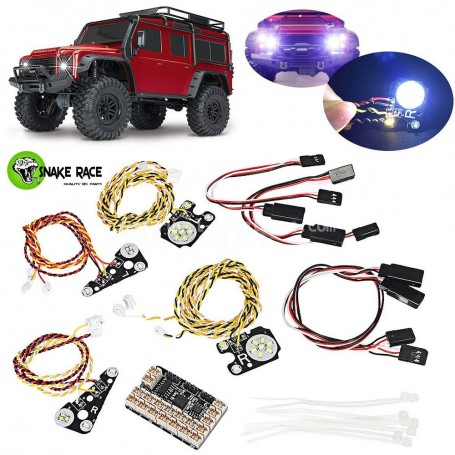 Kit éclairage complet  TRX4 TRX4-LEDS Snake Race