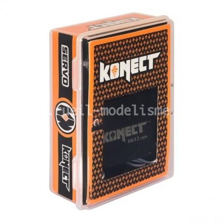 Servo 6kg pignons plastiques KN-612LVPL Konect