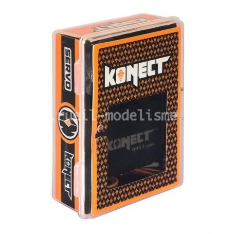 Servo 9kg pignons métal KN-0913LVMG Konect