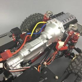 V8 simulation Boite de vitesse  SCX10II V8 Snake Race