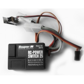 Power switch 25 (3879) Graupner