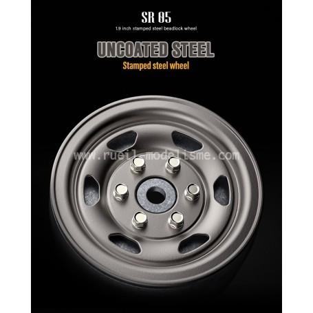Jantes lourdes beadlock 1.9 SR05 acier GM70507 GMade
