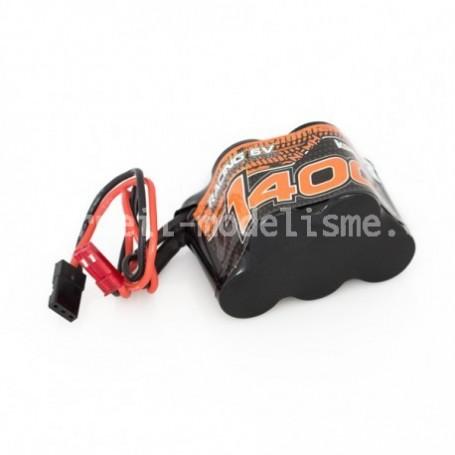 Batterie 6V 1400 mah Konect