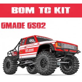 BOM trail truck GS02 en kit GM57000 GMade