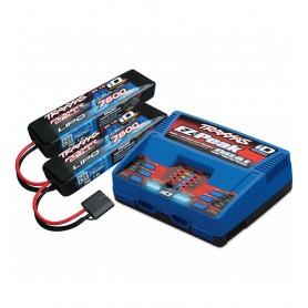 Chargeur sortie 100W 2972G + 2 batt. 2S 7600mah Traxxas TRX2991GX