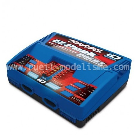 Chargeur double sortie 100W 2972 Traxxas