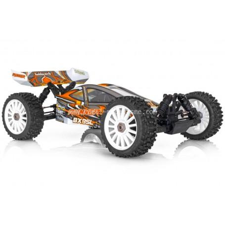 RUNNER BX8 1/8e Electrique orange RTR