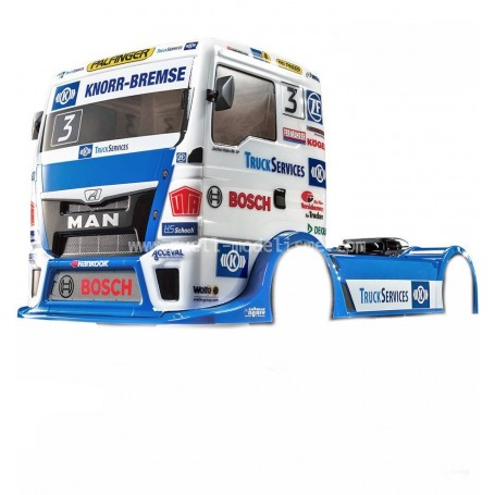 Carrosserie Man TGS Team Hahn racing  51606 Tamiya