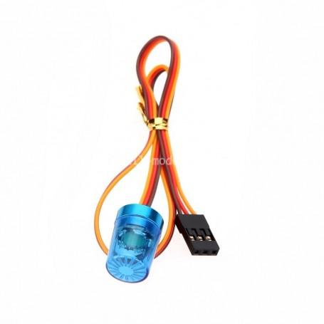 Gyrophare animé bleu 56372 Topcad