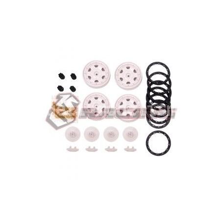 Jantes beadlock 1.9 étroites CRA-148 3racing