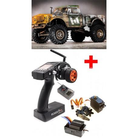CRX V2 crawler en kit Hobby Tech