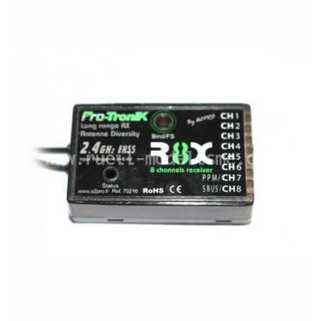 Récepteur R8X PTR-6A Pro-Tronik V2
