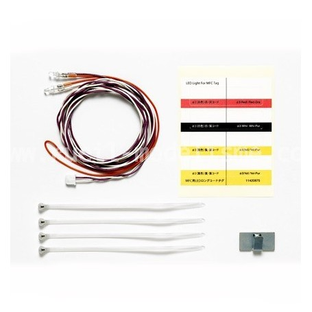 LEDs Blancs Cablage Long 56550 Tamiya