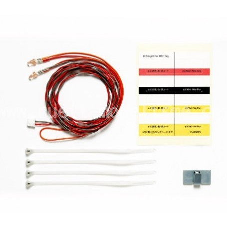 LEDs Rouges Cablage Long 56549 Tamiya