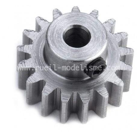 Pignon moteur 17dts module 0.8 84181 Tamiya