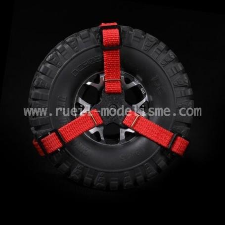 Sangle de roue de secours 1.9-2.2 DCA-0186RD Team DC