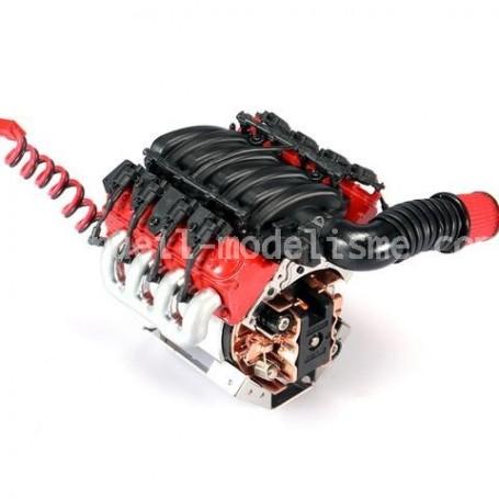 Ventilateur simulation moteur V8 DJC-0641 Team DC