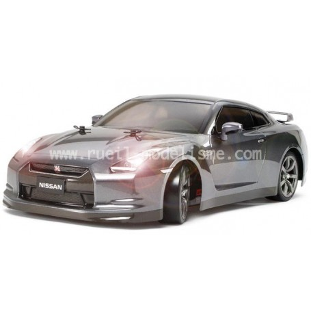 Nissan GT-R TT01D type E drift spec Leds 58455 Tamiya