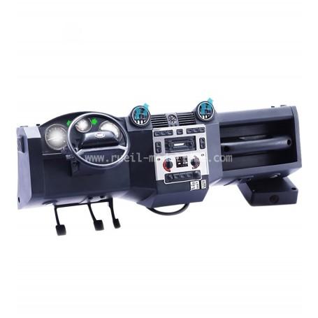 Tableau de bord éclairant TRX4 Defender D110 DJC-0640 Team DC