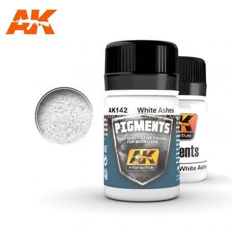 Pigment cendres blanches AK142 AK INTERACTIVE