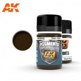 Pigment rouille sombre AK2042 AK INTERACTIVE