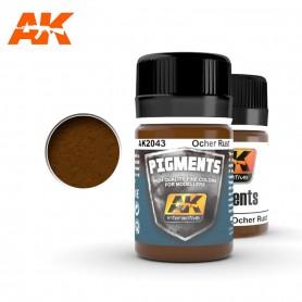 Pigment rouille ocre AK2043 AK INTERACTIVE