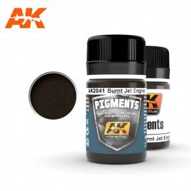 Pigment moteur à réaction brûlé AK2041 AK INTERACTIVE