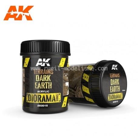 Terrain terre sombre AK8018 AK INTERACTIVE