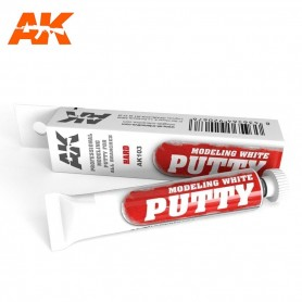 Putty mastic blanc AK103 AK INTERACTIVE