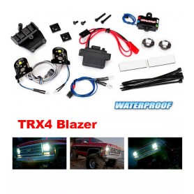 Kit éclairage complet + alimentaion TRX4 BLAZER 8038 Traxxas