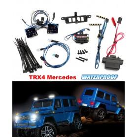 Kit éclairage complet + alimentation TRX4 Mercedes 8898 Traxxas