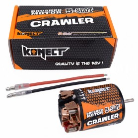 Moteur charbon Crawler 5 slots 13T 2320Kv  KN-5SLOT55013T Konect