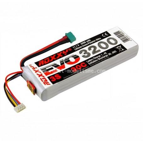 ROXXY EVO LiPo 3S - 3200mah 30C  1-00482 Multiplex