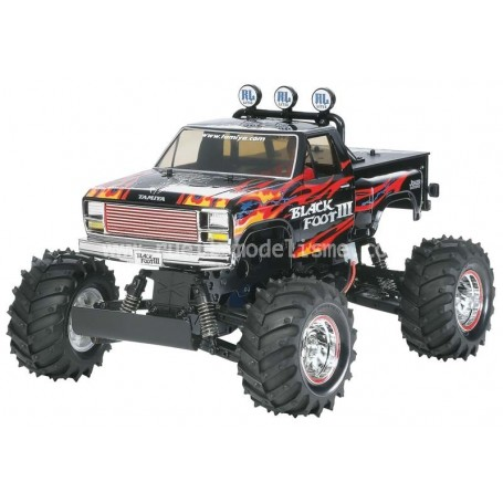 Black foot III  en kit 58498 Tamiya