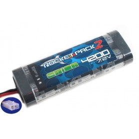 Batterie 7,2V 4200 mah Rocket pack 2 Orion