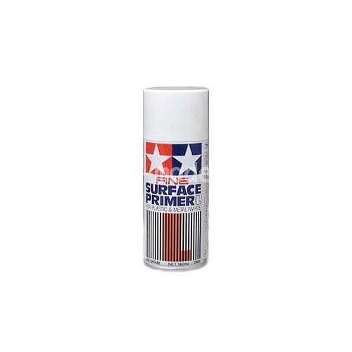 Appr t surface primer blanc en bombe 87044 tamiya rueil modelisme - Bombe de peinture blanche ...