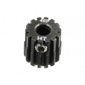 Pignon acier 48DP 14dts 51614 Topcad