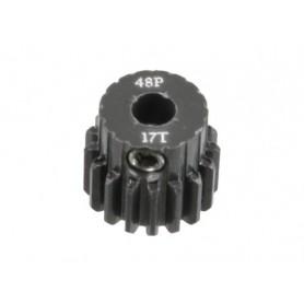 Pignon acier 48DP 17dts 51617 Topcad