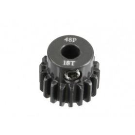Pignon acier 48DP 18dts 51618 Topcad